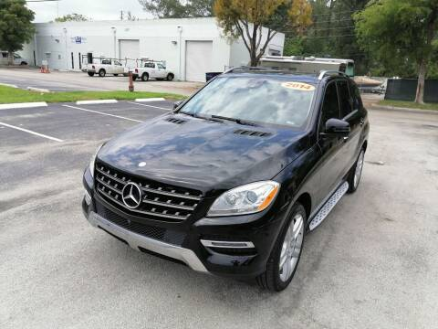2014 Mercedes-Benz M-Class for sale at Best Price Car Dealer in Hallandale Beach FL