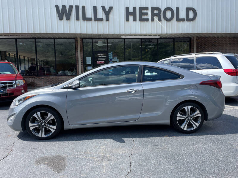 2014 Hyundai Elantra Coupe for sale at Willy Herold Automotive in Columbus GA