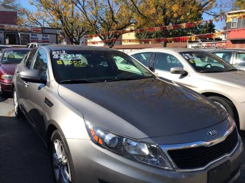 2013 Kia Optima for sale at Chambers Auto Sales LLC in Trenton NJ