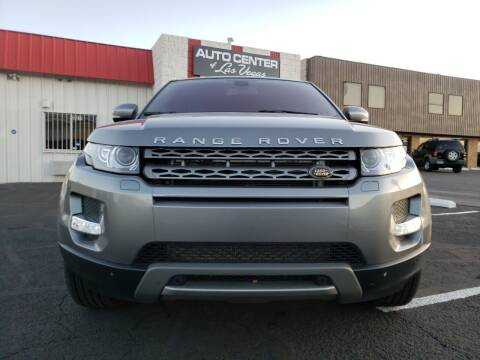 2013 Land Rover Range Rover Evoque for sale at Auto Center Of Las Vegas in Las Vegas NV