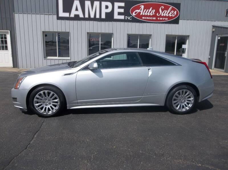 2014 Cadillac CTS for sale at Lampe Auto Sales in Merrill IA