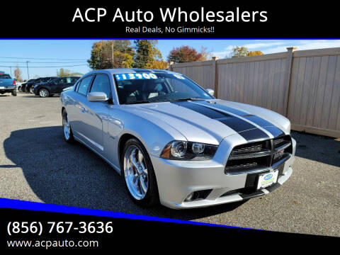 2012 Dodge Charger for sale at ACP Auto Wholesalers in Berlin NJ