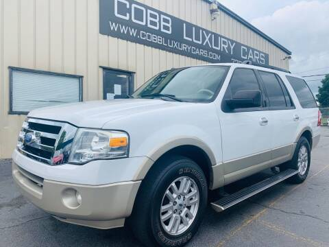 2010 Ford Expedition for sale at Cobb Luxury Cars in Marietta GA