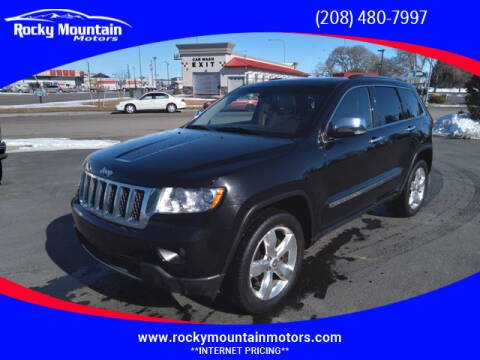 2013 Jeep Grand Cherokee for sale at Rocky Mountain Motors in Idaho Falls ID