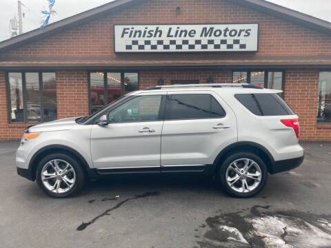 2011 Ford Explorer for sale at FINISHLINE MOTORS in Canton OH