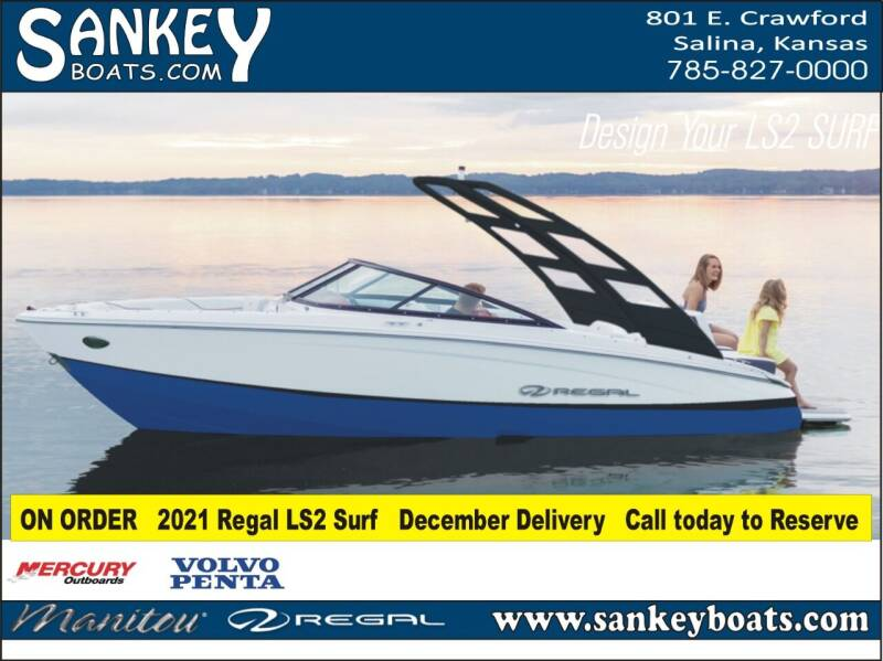 2021 Regal LS2 Surf for sale at SankeyBoats.com in Salina KS