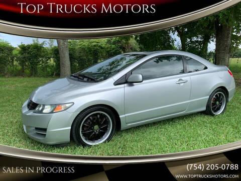 2009 Honda Civic for sale at Top Trucks Motors in Pompano Beach FL