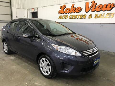 2013 Ford Fiesta for sale at Lake View Auto Center and Sales in Oshkosh WI