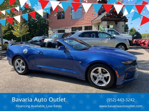 2020 Chevrolet Camaro for sale at Bavaria Auto Outlet in Victoria MN