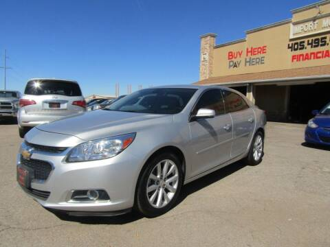 2015 Chevrolet Malibu for sale at Import Motors in Bethany OK