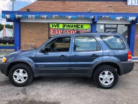 2001 Ford Escape for sale at Duke Automotive Group in Cincinnati OH