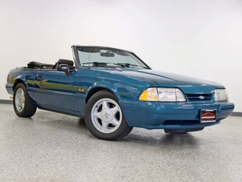 1993 Ford Mustang for sale at Vanderhall of Hickory Hills in Hickory Hills IL