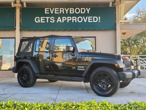 2012 Jeep Wrangler Unlimited for sale at Dunn-Rite Auto Group in Longwood FL