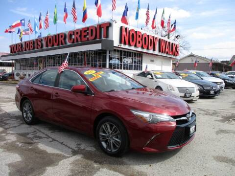 2017 Toyota Camry for sale at Giant Auto Mart 2 in Houston TX