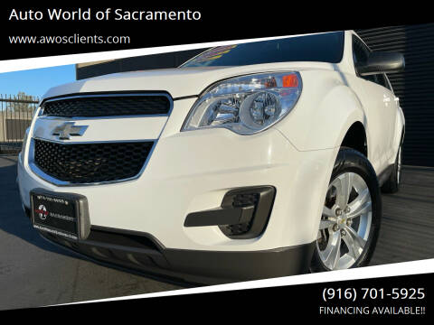 2012 Chevrolet Equinox for sale at Auto World of Sacramento Stockton Blvd in Sacramento CA