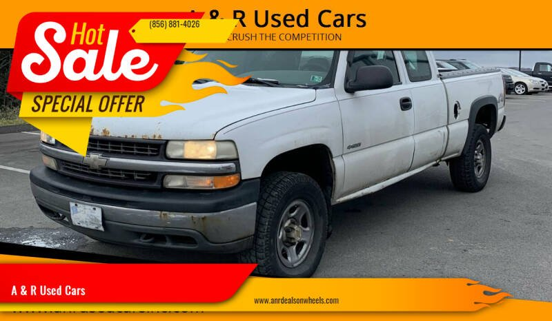 2001 Chevrolet Silverado 1500 for sale at A & R Used Cars in Clayton NJ