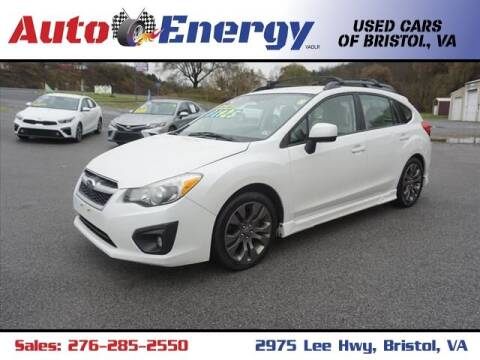 2012 Subaru Impreza for sale at Auto Energy-Bristol in Bristol VA