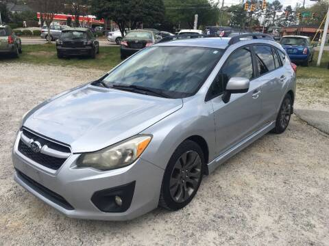2012 Subaru Impreza for sale at Deme Motors in Raleigh NC