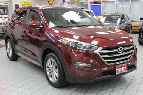 2018 Hyundai Tucson for sale at Windy City Motors in Chicago IL