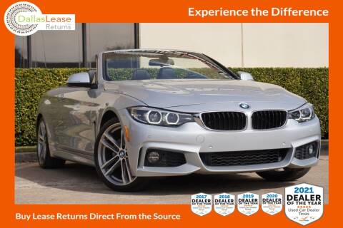 2018 BMW 4 Series for sale at Dallas Auto Finance in Dallas TX