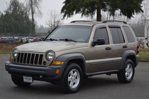 2005 Jeep Liberty for sale at Skyline Motors Auto Sales in Tacoma WA