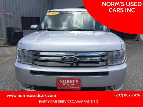 2011 Ford Flex for sale at NORM'S USED CARS INC in Wiscasset ME