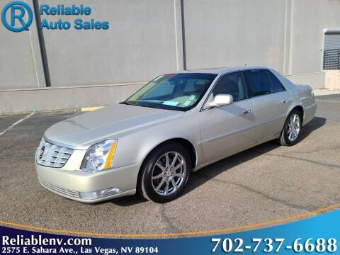 2007 Cadillac DTS for sale at Reliable Auto Sales in Las Vegas NV