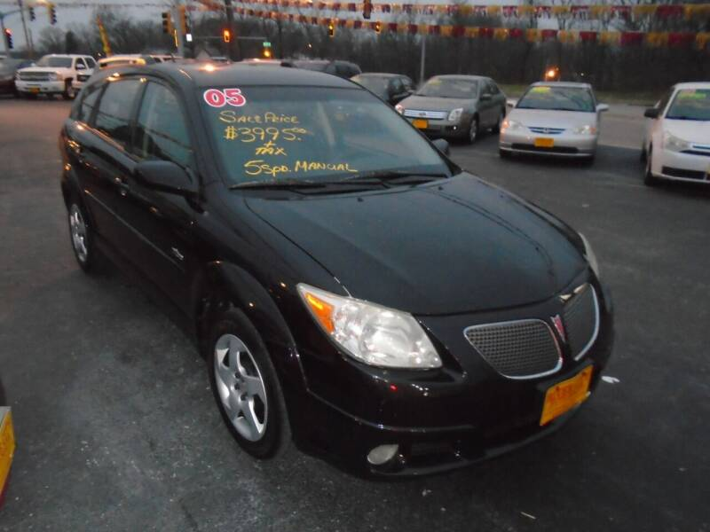 2005 Pontiac Vibe for sale at River City Auto Sales in Cottage Hills IL