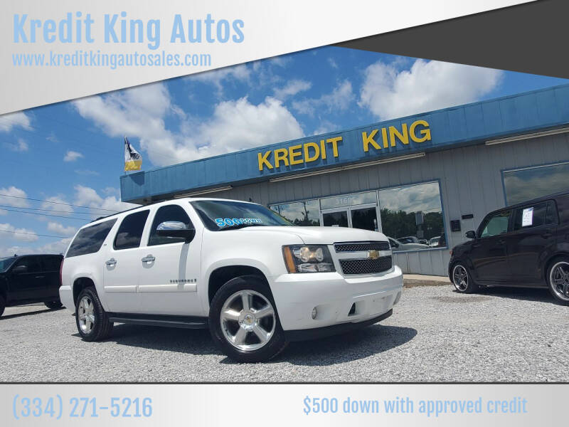 2008 Chevrolet Suburban for sale at Kredit King Autos in Montgomery AL