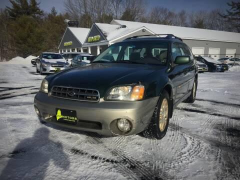 2002 Subaru Outback for sale at 207 Motors in Gorham ME