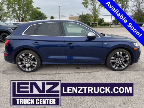2018 Audi SQ5 for sale at LENZ TRUCK CENTER in Fond Du Lac WI
