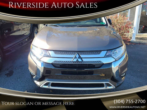 2019 Mitsubishi Outlander for sale at Riverside Auto Sales in Saint Albans WV