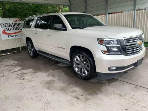 2015 Chevrolet Suburban for sale at Dominique Auto Sales in Opelousas LA