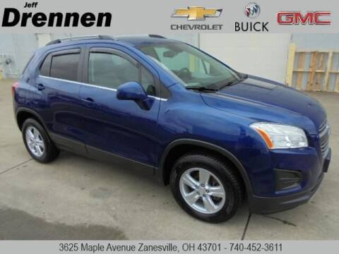 2015 Chevrolet Trax for sale at Jeff Drennen GM Superstore in Zanesville OH