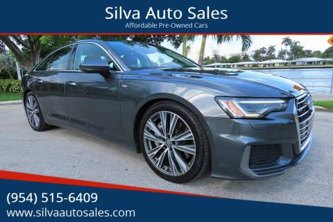 2019 Audi A6 for sale at Silva Auto Sales in Pompano Beach FL