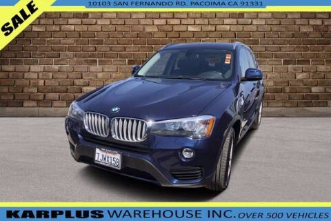 2015 BMW X3 for sale at Karplus Warehouse in Pacoima CA