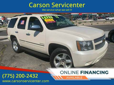 2013 Chevrolet Tahoe for sale at Carson Servicenter in Carson City NV