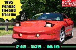 1995 Pontiac Firebird for sale at Ilan's Auto Sales in Glenside PA