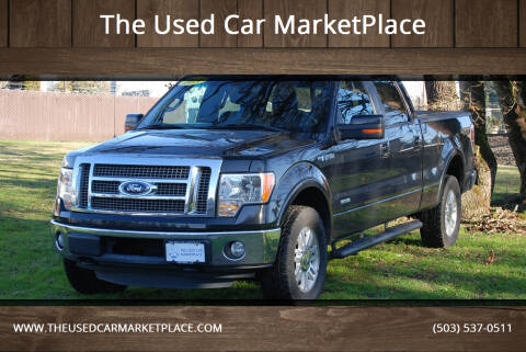 2011 Ford F-150 for sale at The Used Car MarketPlace in Newberg OR