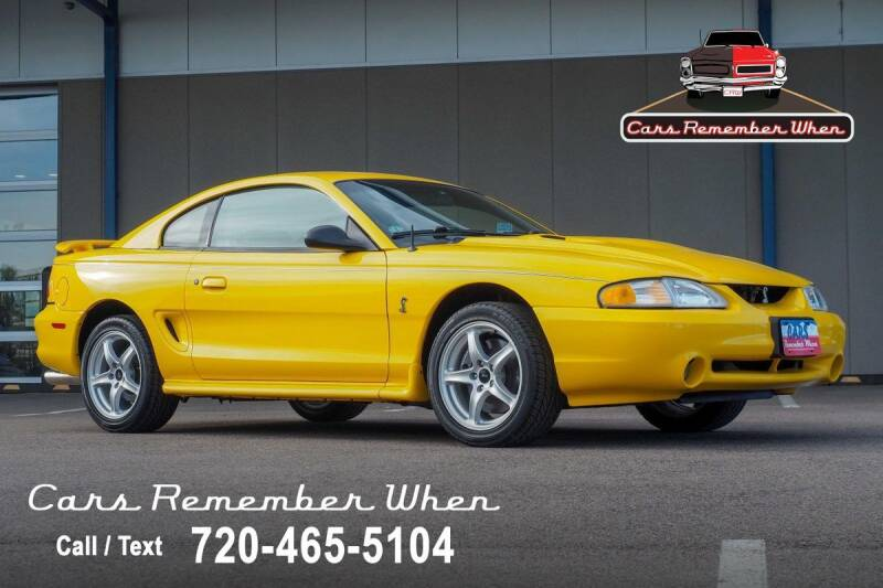 1998 Ford Mustang SVT Cobra for sale in Englewood, CO