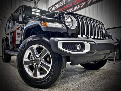 2020 Jeep Wrangler Unlimited for sale at Carder Motors Inc in Bridgeport WV