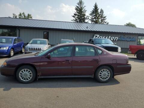 2004 Chevrolet Impala for sale at ROSSTEN AUTO SALES in Grand Forks ND