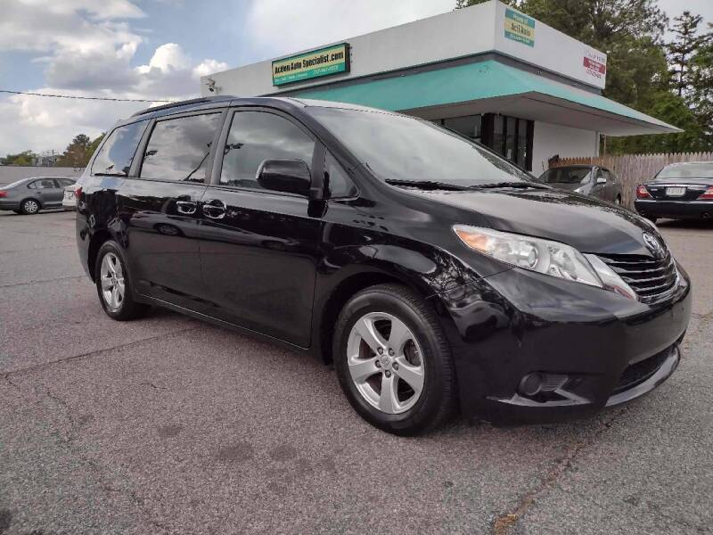 2016 Toyota Sienna for sale at Action Auto Specialist in Norfolk VA