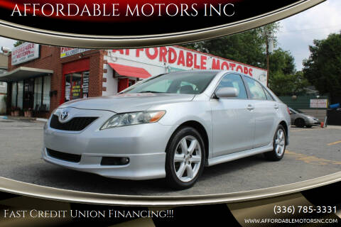 2007 Toyota Camry for sale at AFFORDABLE MOTORS INC in Winston Salem NC