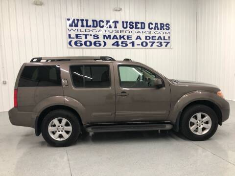 2008 Nissan Pathfinder for sale at Wildcat Used Cars in Somerset KY