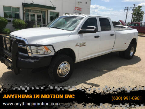 2018 RAM Ram Pickup 3500 for sale at ANYTHING IN MOTION INC in Bolingbrook IL
