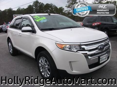 2013 Ford Edge for sale at Holly Ridge Auto Mart in Holly Ridge NC