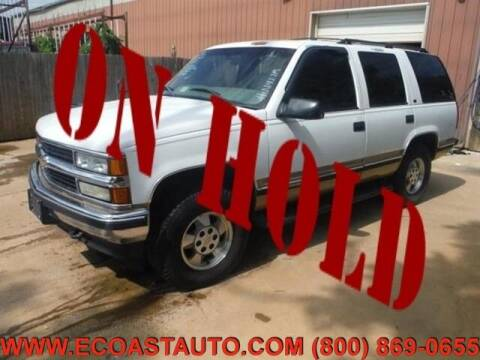 1999 Chevrolet Tahoe for sale at East Coast Auto Source Inc. in Bedford VA
