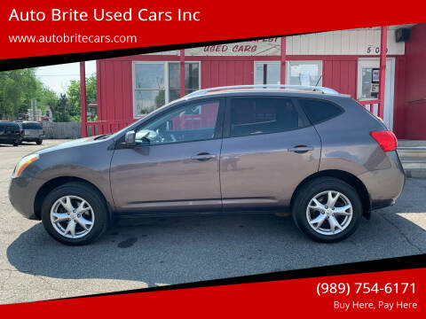 2008 Nissan Rogue for sale at Auto Brite Used Cars Inc in Saginaw MI