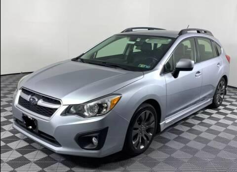 2013 Subaru Impreza for sale at Berkshire Auto & Cycle Sales in Sandy Hook CT